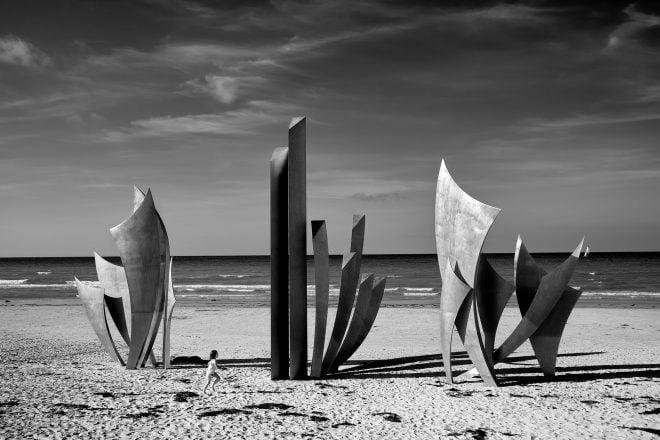 Les Braves (Omaha Beach, France)